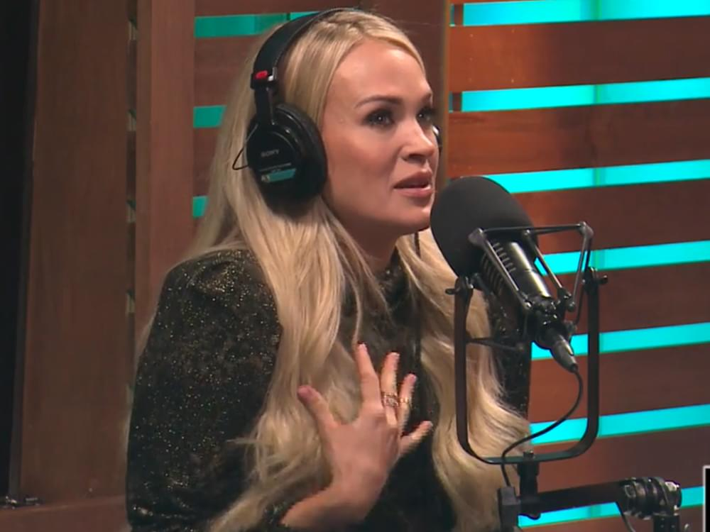 """Video Premiere: Carrie Underwood Overcome With Emotion After Hearing Miranda Lambert's Praise: """"We Lift Each Other Up"""""""