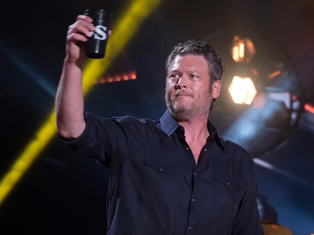 Blake Shelton Passes George Strait & Alan Jackson for Third Place on Billboard Country Airplay All-Time List