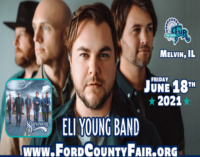 Eli Young Band Comes To Ford County Fair in June