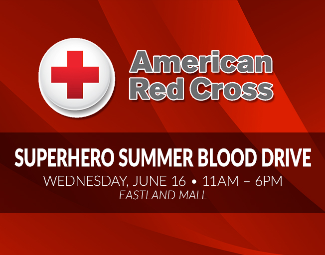 Red Cross Superhero Summer Blood Drive