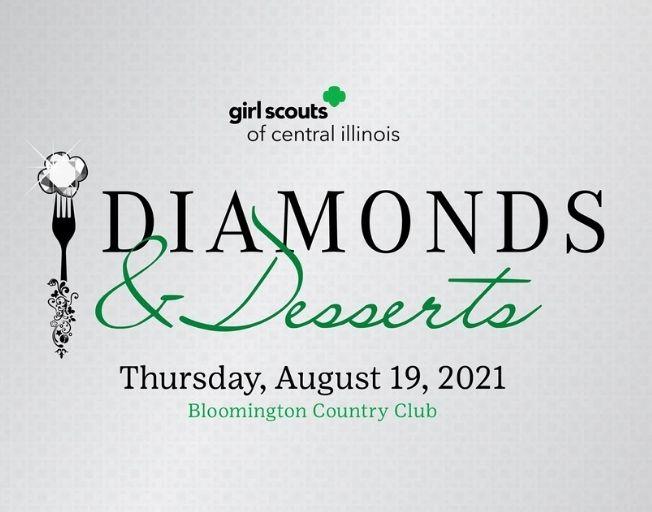 Girls Scouts Diamonds & Desserts 2021