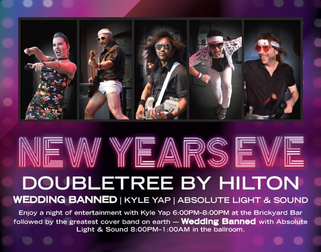 WJEZ's NYE at the DoubleTree Feat. Wedding Banned