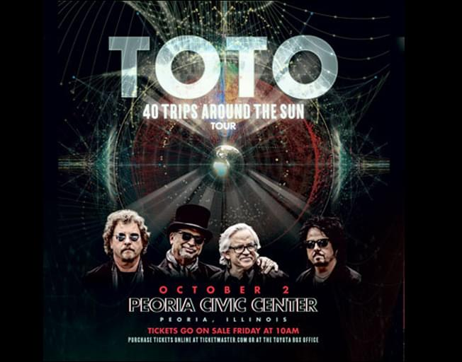 Win Tickets To Toto At The Peoria Civic Center Theater