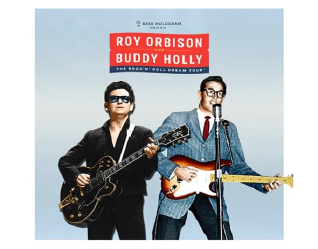 "Win Tickets To ""Roy Orbison & Buddy Holly: Rock 'N' Roll Dream Tour"""