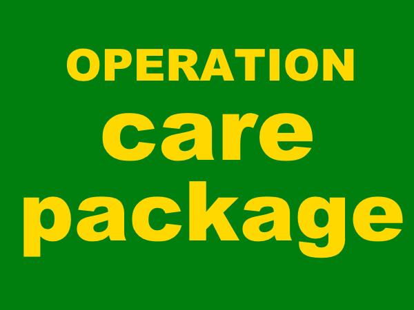 Operation Care Package is Collecting Donations