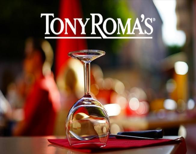 Win A Tony Roma's Gift Certificate As A WJEZ VIP