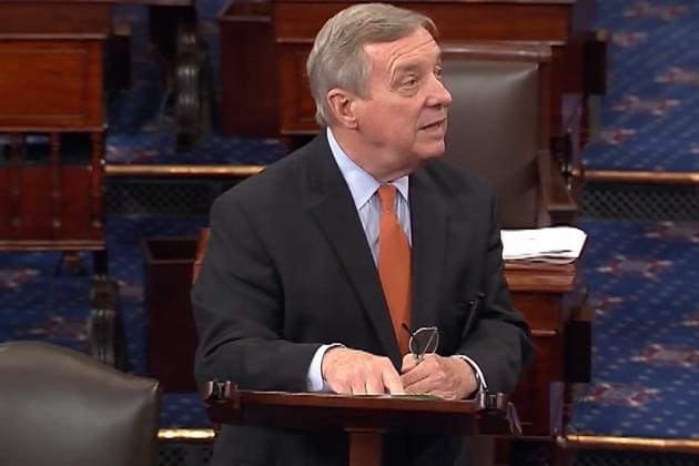 Durbin Offers Praise for Trump Administration
