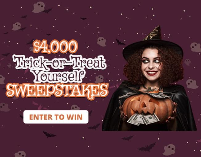 $4,000 Trick-or-Treat Yourself Giveaway