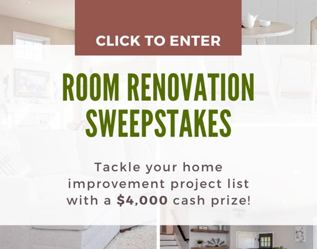 Room Renovation Sweepstakes