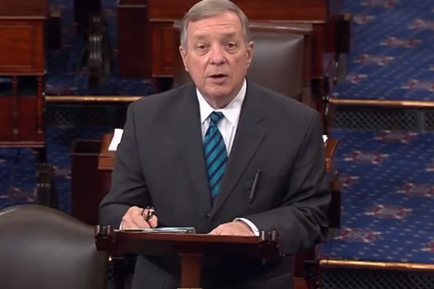 U.S. Sen. Dick Durbin: 'Iran threatening to attack our four U.S. embassies' never came up in briefing