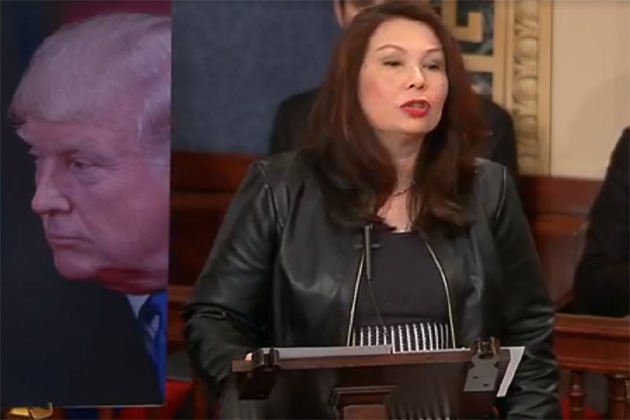 Duckworth calls for pay for active, retired military during government shutdown