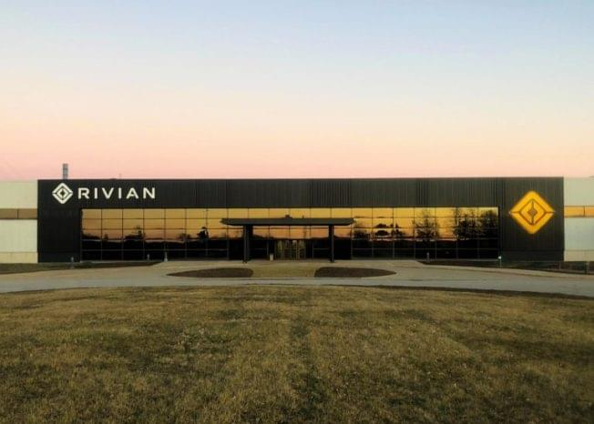 Rivian shares video progress report on manufacturing plant in Normal