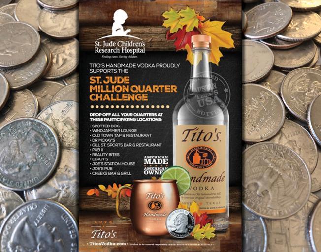 Million Quarter Challenge for St. Jude