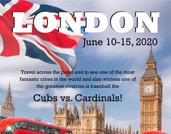 WJBC London Tour Featuring Cubs vs. Cardinals 2020