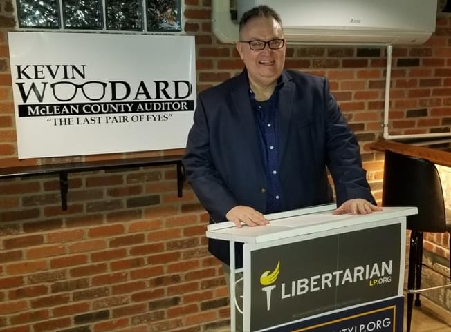 Woodard announces candidacy for McLean County Auditor's race