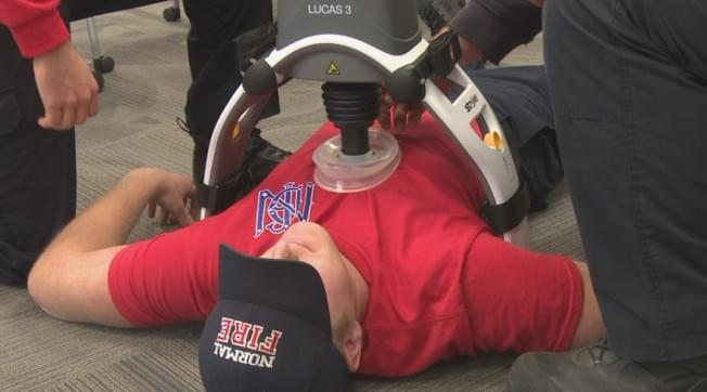 Normal Fire Department gets new device that could save more lives