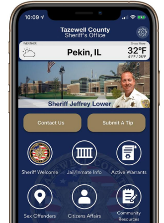 Tazewell County Sheriff's Office announces new smartphone app