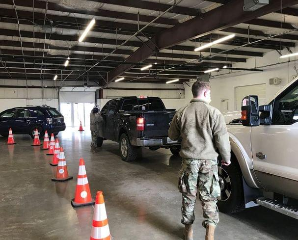 COVID-19 testing stays local as National Guard moves on