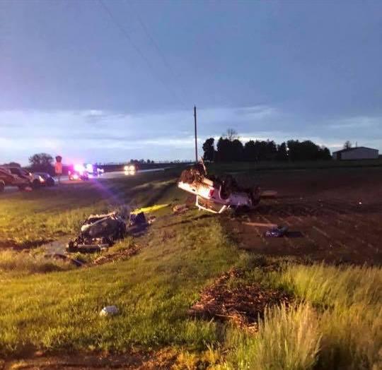McLean County rescue crews free crash victims