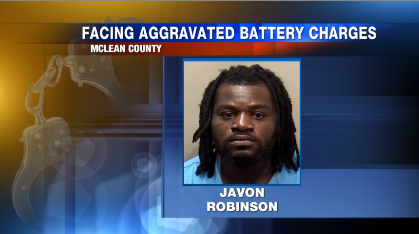 Man facing multiple aggravated battery charges after allegedly using lighter to burn a child