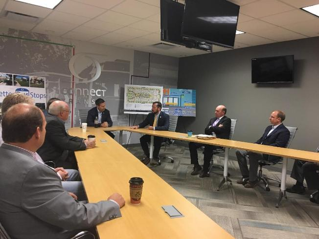 Davis, LaHood announce $8 million to Connect Transit for downtown Bloomington transfer center