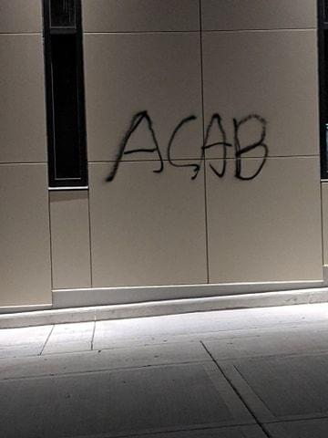 Apparent anti-police slur spray-painted in Uptown Normal, NPD says