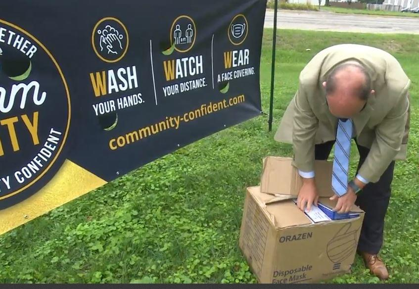 Donation aims to keep McLean County businesses safe from COVID-19