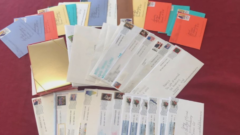 """I'm just so happy"" – Nursing home residents react to pen pal letters"