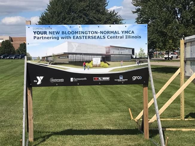 Bloomington-Normal YMCA, Easterseals Central Illinois hold groundbreaking ceremony for new facility