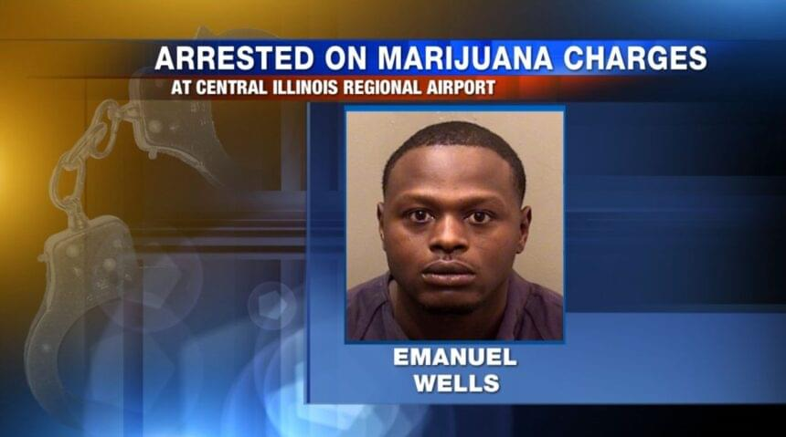 Drug trafficking charge filed against Peoria man arrested for pot possession at Twin-Cities airport