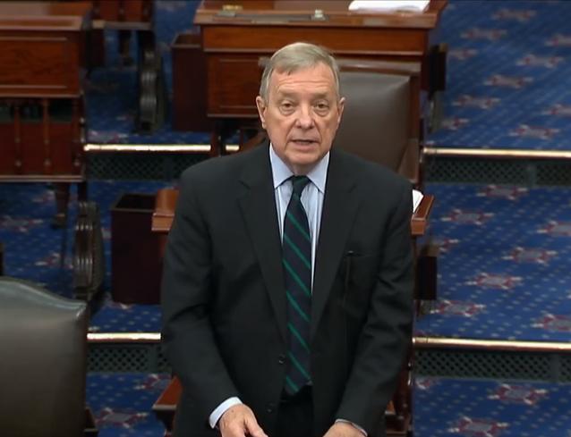 "Senator Durbin: ""We've got to do something"" to provide more COVID-19 relief"