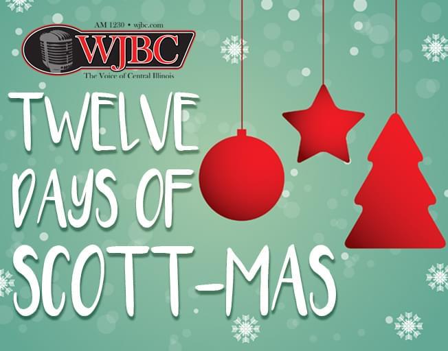 WJBC's 12 Days of Scott-mas Giveaway