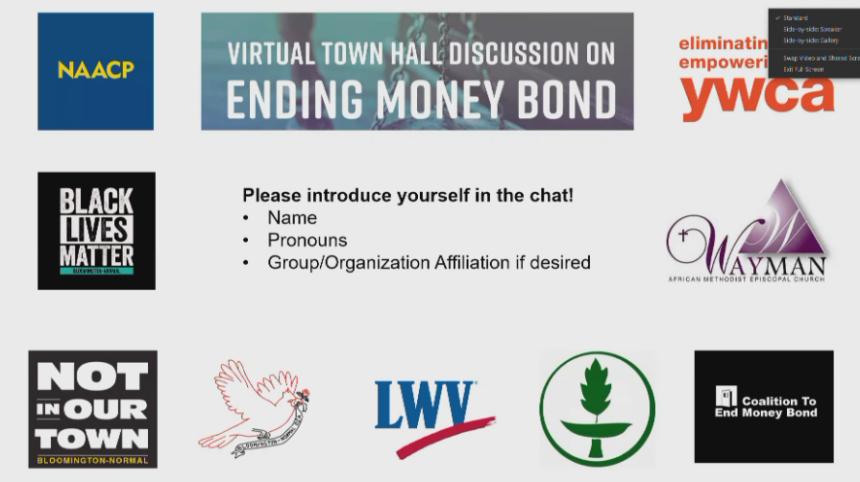Bloomington-Normal NAACP celebrates legislative victory abolishing cash bond