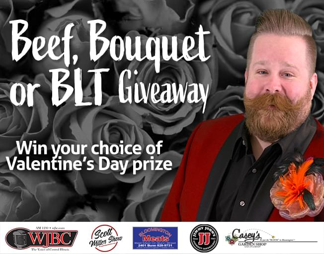 Beef, Bouquet or BLT Giveaway