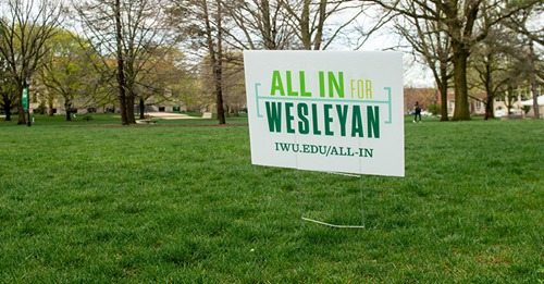 """""""All In for Wesleyan"""" raises record-setting $2.5 million"""