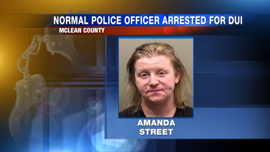 Normal Police officer placed on administrative leave following DUI charge