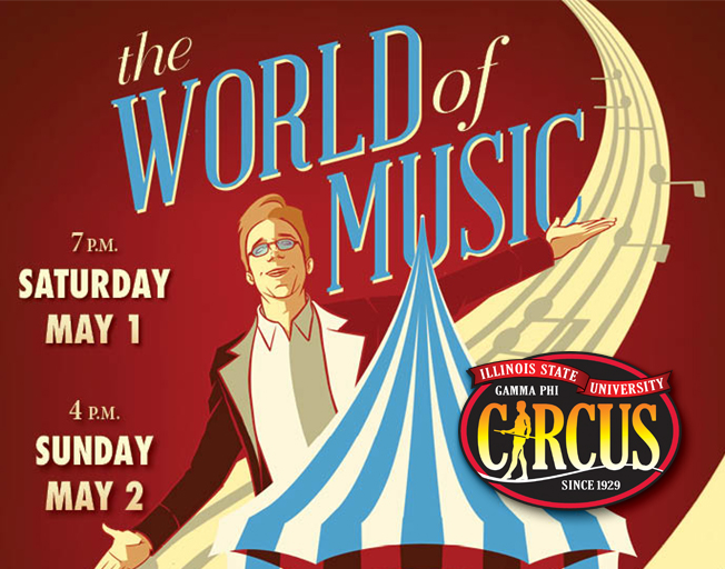 Win a VIP Ticket for the Virtual Gamma Phi Circus Show