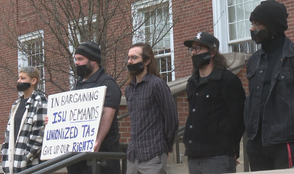 ISU graduate workers approve strike authorization