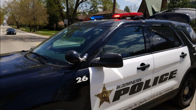Serious crash between bicyclist and pickup truck in Bloomington