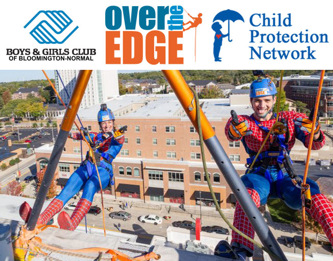 Go Over The Edge for the Kids with WJBC