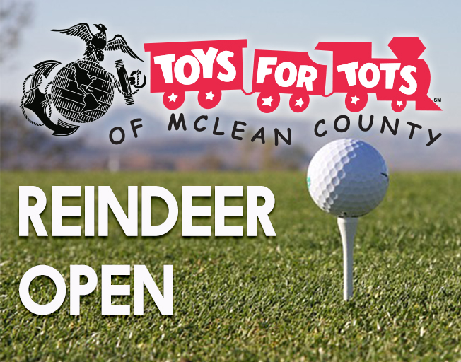 Reindeer Open with Toys for Tots of McLean County
