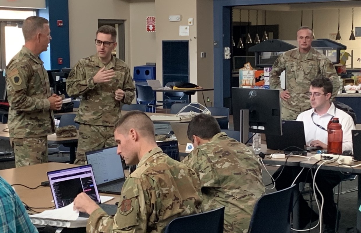 Illinois National Guard participating in Operation Cyber Shield
