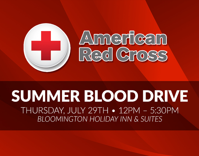 18th Annual American Red Cross Summer Blood Drive