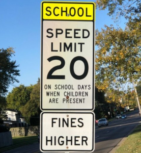 New law expands hours for ticketing for speeding in a school zone