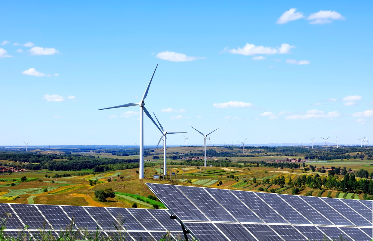 Senate passes energy legislation to use wind and solar power and phase out fossil fuels