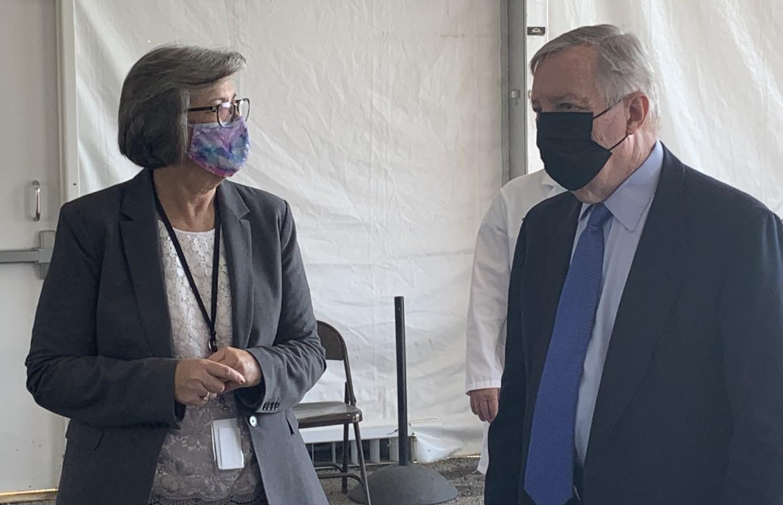 U.S. Sen. Durbin calling on Illinoisans to get vaccinated