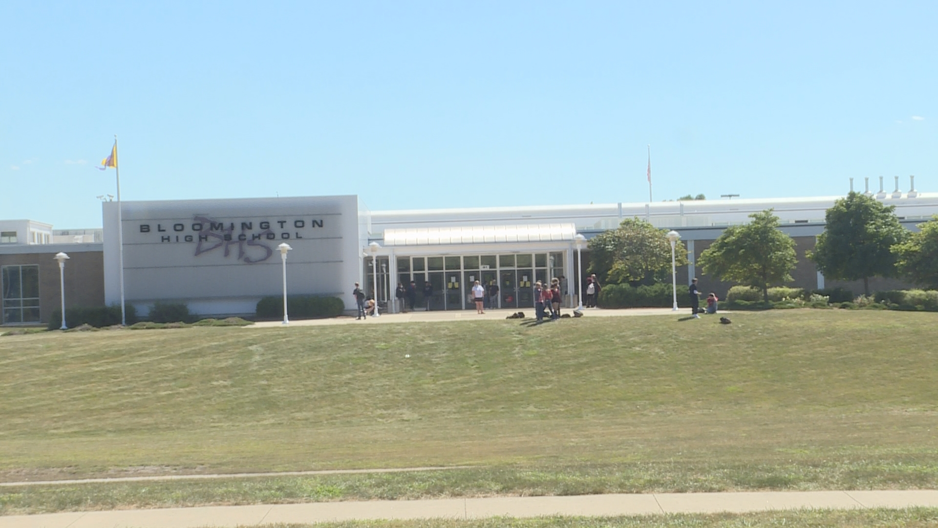 One Bloomington High School student expelled following brawl that left officer hospitalized