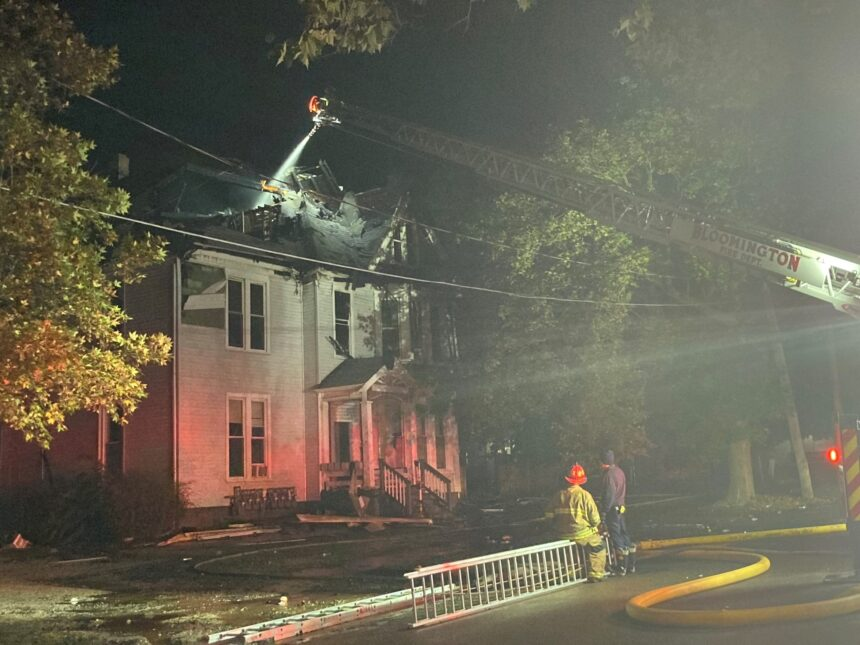 One man dead and five injured in early Tuesday fire