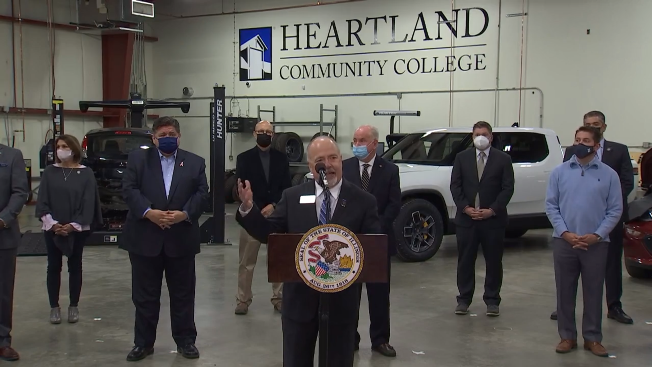 Heartland unveils new electric vehicle training facility