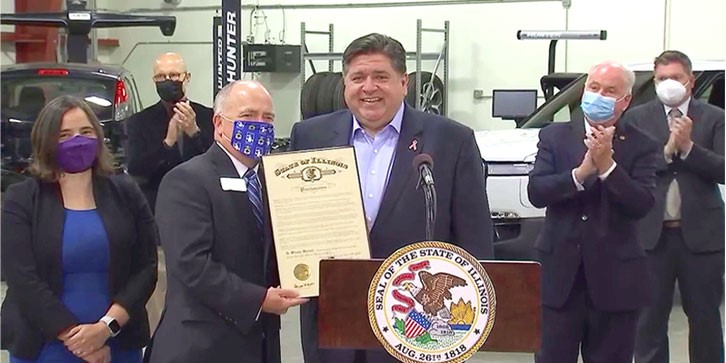 HCC recognized during Manufacturing Month in Illinois